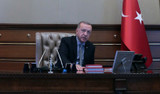 Erdoğan siyasi parti liderlerine harekat ile ilgili bilgi verdi