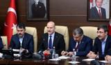3 Bakan'dan Elazığ'da ortak basın açıklaması