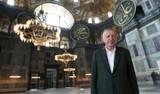 Cumhurbaşkanı Erdoğan'dan Ayasofya Camii paylaşımı