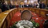 Ermenistan'da eylemciler parlamento binasını bastı