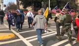 Washington'da kaos büyüyor! Trump destekçilerinden Kongre'ye baskın girişimi!