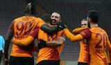 Galatasaray Gençlerbirliği'ni 6-0 mağlup etti