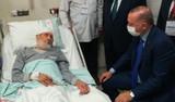 Kanaat önderi Hafız Abdullah Nazırlı vefat etti; Cumhurbaşkanı Erdoğan hastanede ziyaret etmişti