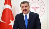 Bakan Koca: Mutasyonun Türkiye'deki oranı yüzde 75'lere ulaştı