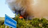 Antalya'da 2 bin 100 kişinin yaşadığı Gündoğmuş tahliye ediliyor