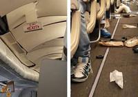 Uçakta türbülans dehşeti