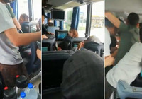 Yolcu otobüsünde akılalmaz olay!