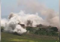 Afrin'deki çatışmanın görüntüleri ortaya çıktı