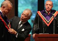 Cumhurbaşkanı Erdoğan'a Japonya'da Fahri doktora