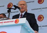 Devlet Bahçeli Kastamonu'da konuştu