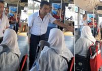 Yaşlı teyzenin şoföre kızdığı görüntüler sosyal medyayı salladı