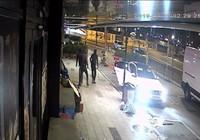 Hırsızlar, vatandaşları döner bıçağıyla kovaladı