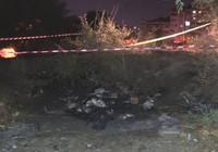 Yanan çadırda erkek cesedi bulundu