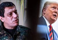 Trump, terörist başı Öcalan'ın manevi oğlu terörist Ferhat Abdi Şahin ile görüştü
