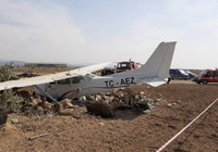 Antalya Manavgat'ta eğitim uçağı düştü