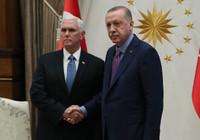 ABD'den kritik ziyaret: Erdoğan-Pence görüşmesi başladı