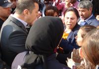HDP'li vekil bağırırken polis talimatı verdi