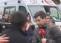 DHA muhabirine çirkin saldırı!