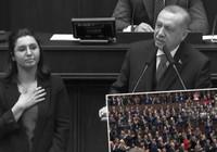 Erdoğan kürsüyü Gülay Demir'e bıraktı!