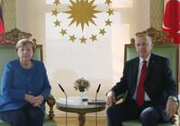 Cumhurbaşkanı Erdoğan, Merkel görüşmesi