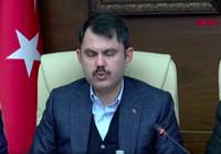 Bakan Murat Kurum'dan deprem açıklaması