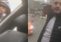 Taksiciler yol kesip evrak kontrolü yaptı!