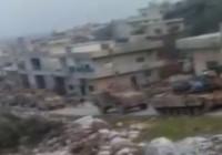 TSK konvoyu İdlib'de böyle görüntülendi!