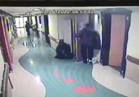 İstanbul'da hastaneden röntgen cihazı çalan şüpheli böyle görüntülendi