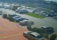 Hatay'daki korkunç kaza anı kamerada