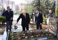 Alparslan Türkeş'e vefatının 23'üncü yılında anıldı