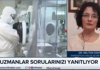 Enfeksiyon Hastalıkları Uzmanı Dr. Meltem Özen:  'Türkiye'de vaka sayısı 600 ve 900 bin arası'