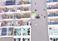 Esenyurt'ta bir binada patlama