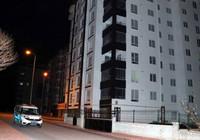 Kayseri'de 8 katlı binaya 'koronavirüs' karantinası