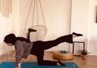 Evde kal egzersizi olay oldu! Fizyoterapi öğrencisi Duygu Akın'dan açıklama