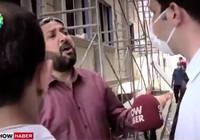 Muhabire saldırdı: Senin gibi yüz tane leşim var