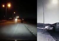 Meteor Erzurum'dan böyle görüntülendi