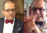 Prof. Dr. Mehmet Çilingiroğlu'ndan canlı yayında edepsiz el hareketi!