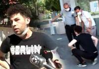 Koşarak sınava gelen genç, okul kapısı önünde şok yaşadı