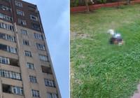Minik Doruk 12'nci kattan böyle düştü