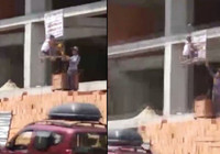 Arnavutköy'de tepki çeken görüntü