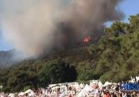 Heybeliada'da iki farklı noktada yangın çıktı