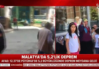 Malatya Pütürge'de 5,2 büyüklüğünde deprem!