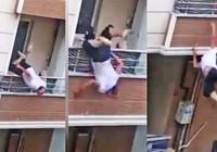 Kavga balkonda başladı yerde bitti