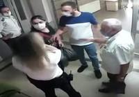 Kadın ziyaretçi kadın görevliye tokat attı