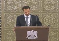 Parlamentoda konuşma yapan Beşar Esad fenalaştı