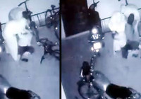 Garajda komşularının çocuğunu feci şekilde dövdüler