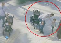 Bebek arabasından düşen çocuğuna şiddet uygulayan baba gözaltına alındı!