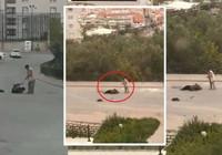 Bursa'da eşini sokak ortasında vurdu, silah tutukluk yapınca kaçtı!