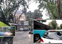 Uyarılar peş peşe gelmişti... İstanbul'u dolu ve şiddetli yağmur vurdu!