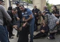 Ermenistan mezarlık ziyaretindeki sivilleri vurdu